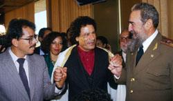 Ortega Gadaffi Castro