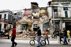Cuba destruida