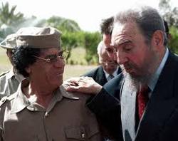 Gadafi Castro