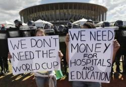 Brazil's protesters sick of corruption