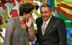 Dilma y Raul