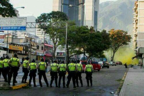Venezuela represión