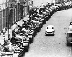 Invasion rusa a Praga