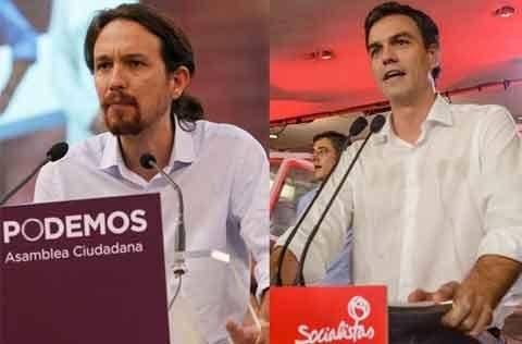 Alianza Psoe Podemos