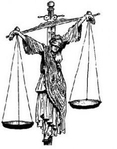 JUSTICIA CRUCIFICADA