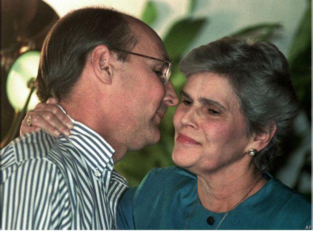 Antonio Lacayo y Violeta Chamorro