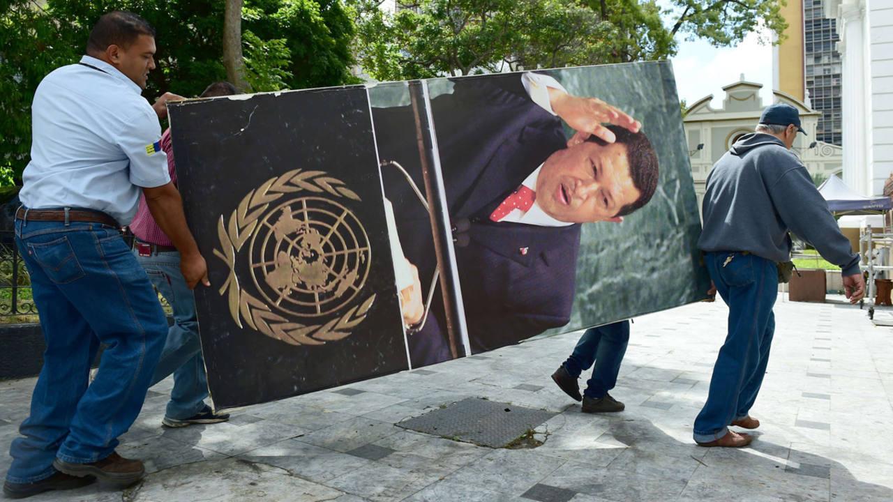 Retrato Chavez