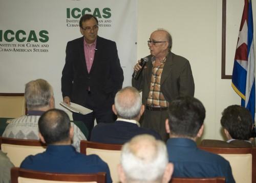 Carlos Alberto Montaner y Jaime Suchlicky