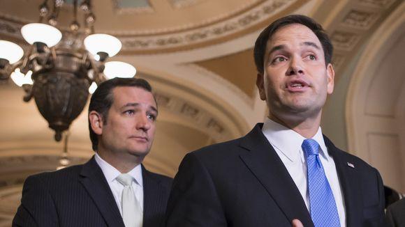 Marcos Rubio y Ted Cruz